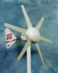 弱い風でもサラサラ回る風力発電機。住宅地でも安心です風力発電機WG913【keyword0323_dynamo】