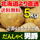 ジャガイモ北海道産男爵だんしゃくいも5kgお中元贈り物内祝いお返しギフトあげいもフライドポテト等おいもを使ったおやつに送料無料バーベキューBBQ