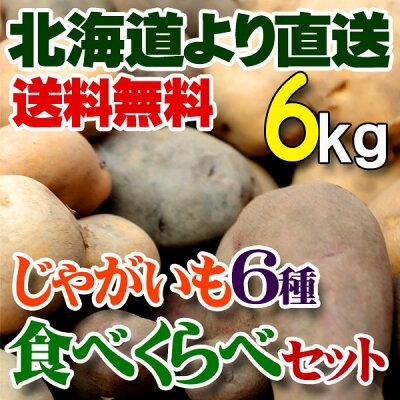 食べ比べ野菜セット北海道の美味しい味覚をお世話になったあの人へ。【送料無料】北海道 直送じ...