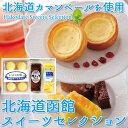 函館 スイーツセレクション 北海道産 贈り物 内祝い お菓子 お返し ギフト スイーツ お土産 送料無料