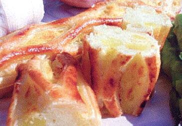 オードブル 北海道産 【きたあかり ポテトパイ 約130g×5本入り】 ホームパーティー 冷凍 保存