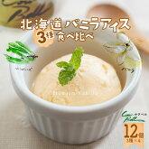 アイスクリームギフト3種類のバニラアイス送料無料お返し内祝い|バニラアイスバニラスイーツお取り寄せスイーツ北海道産お土産