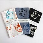 【20%オフクーポン配布中】浜松注染 手ぬぐい ねこ ネコ 猫 かわいい 総理生地 綿100% 34×90 cm てぬぐい 子猫 日本製