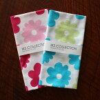 手ぬぐい フラワー 花柄 かわいい 注染 総理生地 綿100% 34×90 cm てぬぐい 手拭い 伝統柄 和柄 土産 Japan