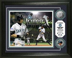 【送料無料】Ichiro Japan Opening Series 2012 Silver Coin Photo Mintイチロー 2012 MLB 日本...