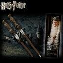 ハリー・ポッターダンブルドア 魔法の杖型ボールペン&しおりHarry Potter Dumbledore Wand Pen and Bookmark