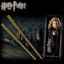 ハリー・ポッターハーマイオニー 魔法の杖型ボールペン&しおりHarry Potter Hermione Wand Pen and Bookmark
