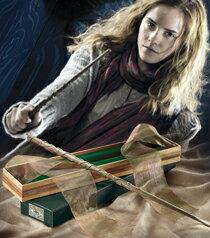 おもちゃ, なりきりアイテム・変身ベルト Harry Potter Hermione Wand with Ollivanders Wand Box