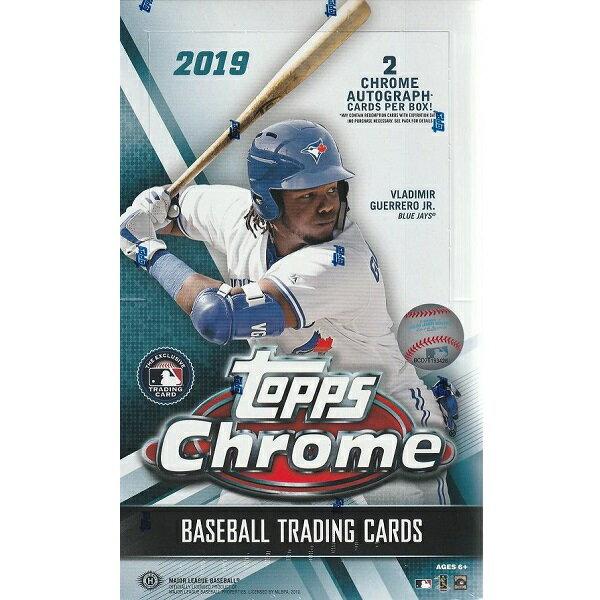 MLB 2019 TOPPS CHROME BASEBALL HOBBY[ボックス]メジャーリーグ 2019 トップス クローム ベースボール ホビー