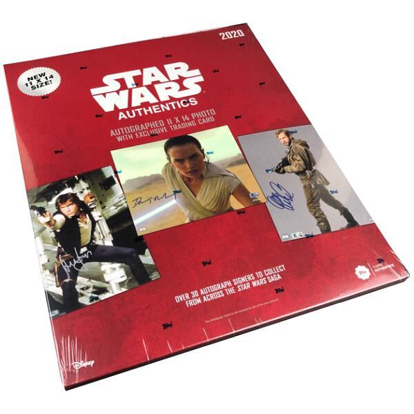 トレーディングカード・テレカ, トレーディングカード 2020 TOPPS STAR WARS AUTHENTICS AUTOGRAPHS BLIND PACK 11142020 1114