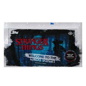 ストレンジャー・シングス ウエルカム・トゥ・ザ・アップサイドダウン トレーディングカード[ボックス]2019 TOPPS STRANGER THINGS WELCOME TO THE UPSIDE DOWN