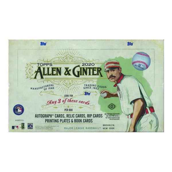 MLB 2020 TOPPS ALLEN & GINTER BASEBALL HOBBY[ボックス]メジャーリーグ 2020 トップス アレン&ギンター ベースボール ホビー画像