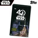 「スター・ウォーズ」40周年記念トレーディングカード2017 TOPPS STAR WARS 40TH ANNIVERSARY