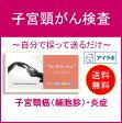 【送料無料】KIT001 自分で子宮頸がん検査ができる郵送検診キット!企業検診にも使われています。アイラボの「子宮頸がん検査」自宅で簡単セルフチェック♪【あす楽対応】