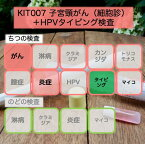 【送料無料】KIT007 アイラボの「子宮頸がん+HPVタイピング検査」【あす楽対応】検査項目:子宮頸がん関連病変、ハイリスクHPVタイピング13種類、膣炎