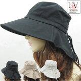 つば広UVハット折りたたみ帽子UVカットハット綿麻UVケア帽子綿キャップ紫外線対策日避けひよけレディースハット婦人帽春夏CAP5500