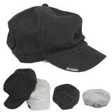 大きいサイズキャスケットワッフル生地帽子コットンキャスケット帽無地キャップハンチング綿メンズレディースCAP1308