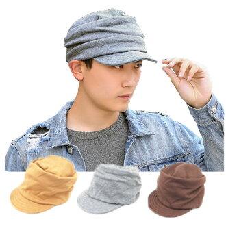 帽子報童帽報童帽子軟案例墊片厚平紋棉布棉帽子羊毛帽 1311