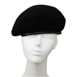 ミリタリー風ベレー帽ベレーフェルト帽子ハット大きいサイズ無地ミリタリーキャップMLXLメンズレディースBERETCAP3405