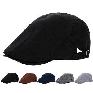 スウェットハンチング コットン 帽子 シンプル キャップ 無地 綿 ハンチング帽 キャスケット メンズ レディース HUNTING CAP 7101