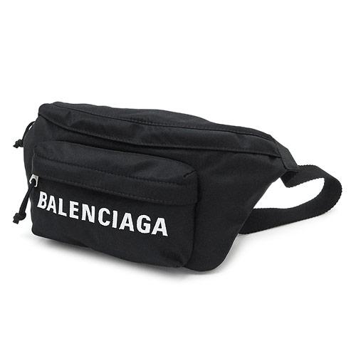 メンズバッグ, ボディバッグ・ウエストポーチ  533009 H851N 1000 BLENCIAGA WHEEL BELT BAG 2020