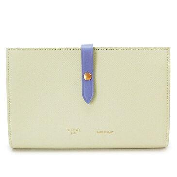 セリーヌ 長財布 レディース CELINE 財布 二つ折り レザー オフホワイト系 10487 3AI5 01CK/CHALK