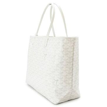 ゴヤール トートバッグ レディース GOYARD バッグ サンルイPM ポーチ付き ホワイト 白 SAINT LOUIS PM 50 WHITE