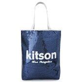 キットソン トートバッグ Kitson ショルダーバッグ スパンコール ミディアムシークインデイバッグ ネイビー×ホワイト Sequin NS Tote bag KHB0261【I LOVE BRAND/楽天】【RCP】【TKHN】【pt10】