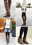 2wayくしゅくしゅフィットロングヒールブーツ【筒幅30cm】足がほっそり見えるジョッキーブーツ!ブーツカバーを外せばナチュラルシューズに大変身♪★99450ベルオリジナル【CSF】【TAF】