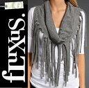 楽天アウトレット価格 フルクサス Fluxus FRINGE SCARF style#16-992 フリンジストール /正規品取扱店舗/