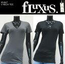 楽天即日発送 フルクサス Fluxus V NECK TEE NEW COLOR シンプルVネックTシャツ 05-847 /正規品取扱店舗/