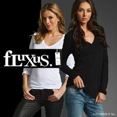 ▲振込決済で送料無料に▲フルクサス Fluxus ロング Tシャツ■即日発送■ フルクサス L S LOOS...