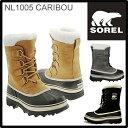 スノーブーツ ソレル 最新入荷 SOREL CARIBOU カリブー NL1005 レディース 防寒ブーツ 雪靴 ウィンターブーツ アウトドアブーツ  正規品取扱店舗  so1