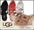 送料無料 UGG アグ W HEDY ヘイディ スウェードウェッジサンダル ウェッジソール サンダル 1004402 /正規品取扱店舗/ so1