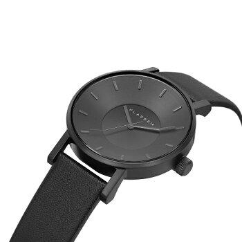 クラス14KLASSE14■保証あり■腕時計36mm42mmMARIONOBILEVOLARE時計レディースメンズユニセックスブラック黒レザー革ベルト