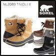 送料無料 SOREL ソレル TIVOLI II ティボリII レディース 防寒ブーツ NL2089 雪靴 スノーブーツ ウィンターブーツ アウトドアブーツ 【正規品取扱店舗】 /s
