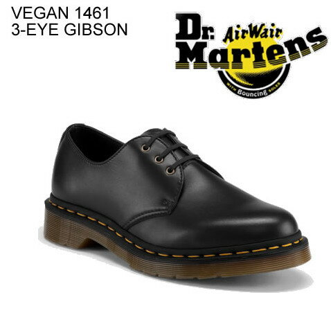 メンズ靴, その他 Dr.Martens VEGAN 1461 3 EYE GIBSON 3 R14046001