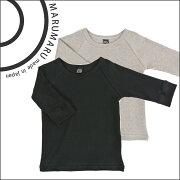 marumaruキッズラグラン七分袖Tシャツ