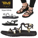 テバ Teva ボヤ インフィニティー VOYA INFINITY WOMENS ブラック ゴールド シルバー