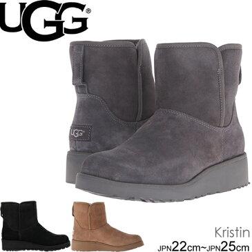 UGG kristin アグ クリスティン ウェッジ ミニ ショートブーツ ムートンブーツ 1012497 正規品取扱店舗  クラシックブーツ so1