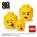小物入れ 小物収納 おもちゃ箱 LEGO【4032 レゴ ストレージヘッド ラージ】ストレージ LEGO STORAGE か...