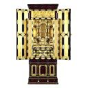 名古屋型台付 いさみ3 箔仕上 東 金仏壇