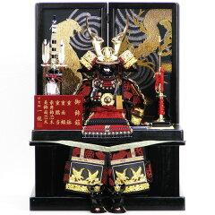 【展示現品】【五月人形】 コンパクト収納飾り 鎧飾り 6号龍翔鎧 【883】 よろい飾り/鎧収…