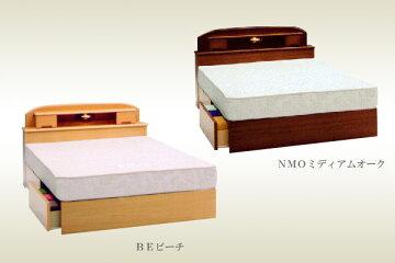 [BED]引出し・宮付きベッド【IPB-RCJ-440】(SDサイズ)フレームのみ/送料無料値引き交渉に応じます。