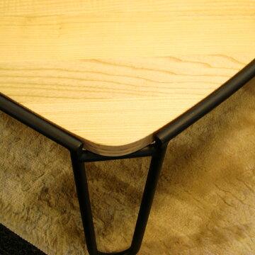 センターテーブル【Solowソロートライアングル(L&Mセット)】リビングテーブルローテーブルアッシュ【送料無料】【RCP】