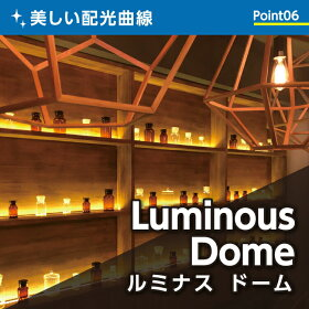 美しい配光曲線ルミナスドーム