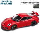 【 ポルシェ 純正 クーポン対象 】 モデルカーGT3 991 II 911 カラー:レッド (indischrot/schwarz) スケール 1:43Minichamps社製 ミニカー トイカー Porsche Design