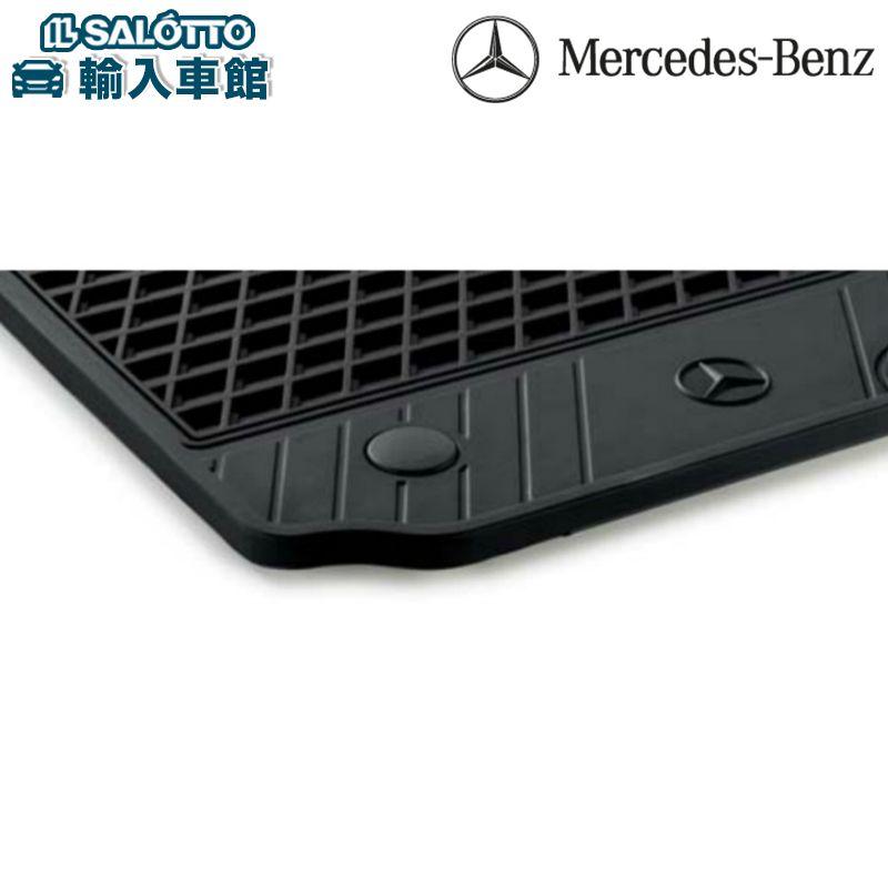 フロアマット プレミアム4点セット Mersedes-Benzロゴメタルプレート�き 消臭機能 �汚機能Sクラス S-class