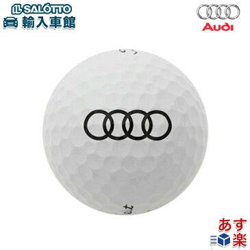 【 AUDI 純正 クーポン対象 】 ゴルフボール アウディ 4リングス 6個 タイトリスト コラボモデル Titleist Pro V1x new