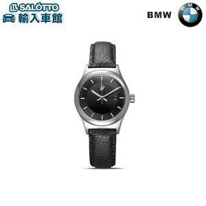 【BMW純正ファッションコレクション】クラシック・ウォッチ(レディース)/ブラック・レザー